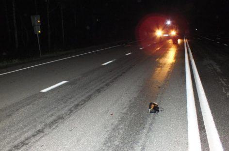 На трассе, недалеко от Гиганта, погибла 17-летняя девушка