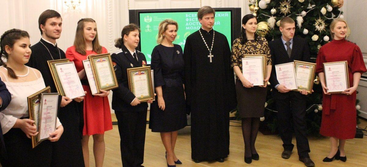 Светлана Медведева поздравила с успехом жительницу Сандаты