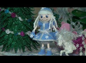 Новый год — в поделках: сальские маленькие мастера удивили зрителей