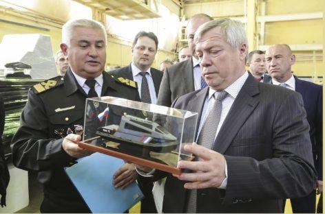 Глава Дона призвал поддержать судостроение