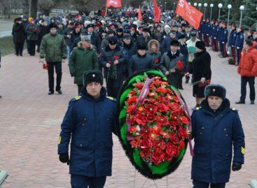В Сальске отметили годовщину освобождения от немецко-фашистских захватчиков