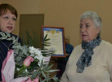 Новым председателем Сальской районной организации ВОИ избрана Галина Михайленко