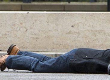 В Сальске на улице нашли мужчину с ножевыми ранениями