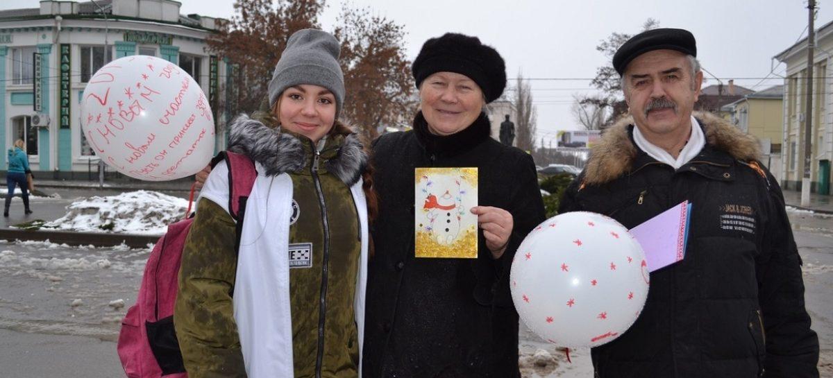 Сальские волонтеры провели марафон добрых дел