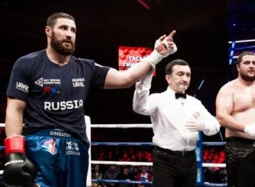 Гимбатов вернулся на ринг: сальчанин дал бой украинскому спортсмену после годичного перерыва