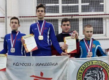 Каратист клуба «Контакт» стал призером в городе Миллерово