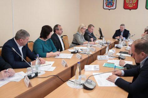 Василий Голубев обсудил с муниципальными руководителями и специалистами областного Минкульта нацпроект «Культура»