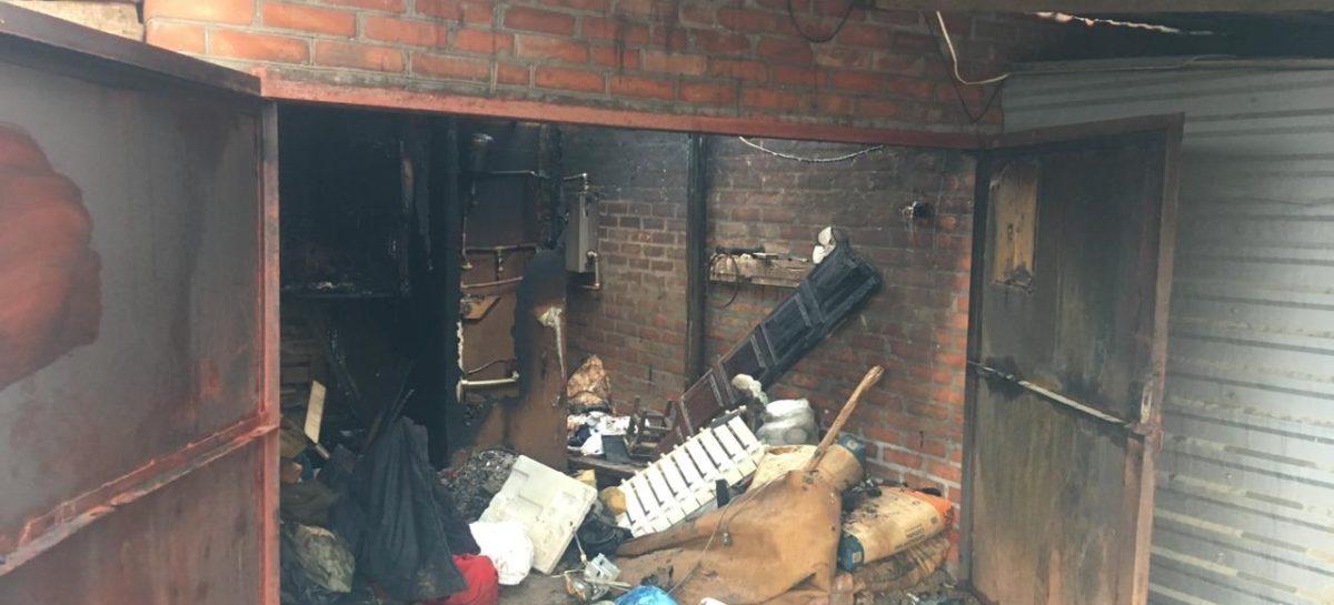 Короткое замыкание на дачном участке привело к пожару