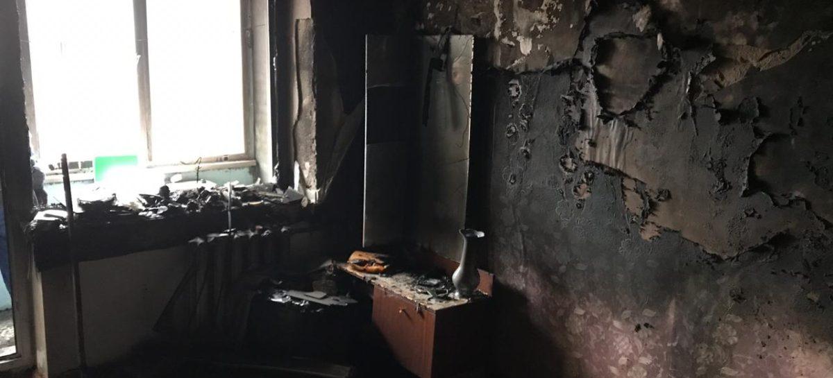 В Гиганте из-за пожара в пятиэтажке эвакуировали 25 человек
