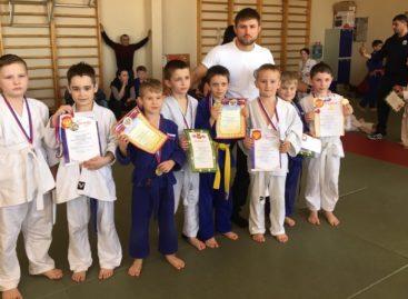 Первые «весенние» медали завоевали сальские дзюдоисты