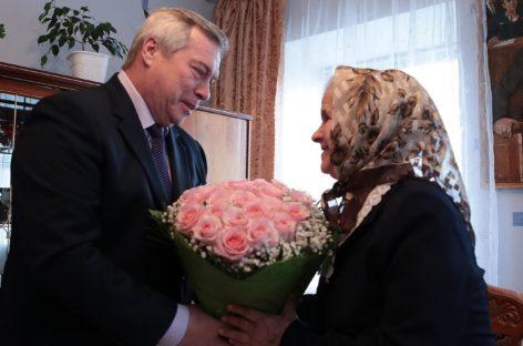 Глава региона отметил Нину Переверзеву высокой наградой