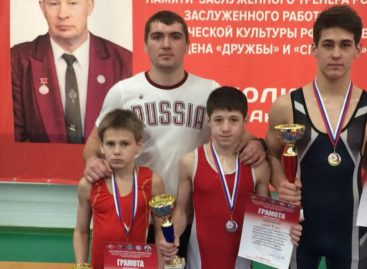 Борцы из Гиганта успешно выступили на Всероссийском турнире в Тамбове