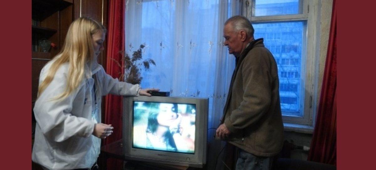 О волонтерах и цифровом ТВ