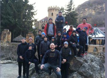 Юные сальские баскетболисты готовились к соревнованиям в Кисловодске