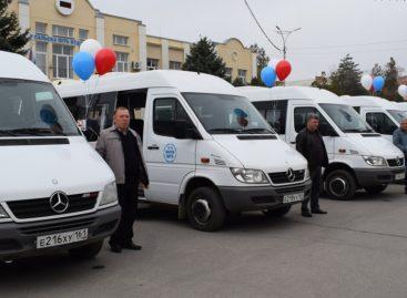На городские маршруты в Сальске выйдут семь новых микроавтобусов