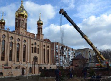 Сальский собор святых Кирилла и Мефодия: строительство — на середине пути