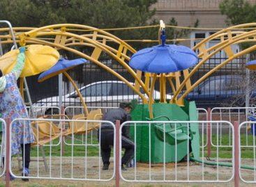 Парк готовится принять сальчан в начале сезона