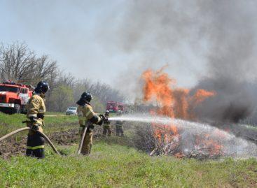 В Сальском районе прошли пожарно-тактические учения