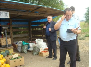 На Дону за несанкционированную торговлю выписаны штрафы на миллион рублей