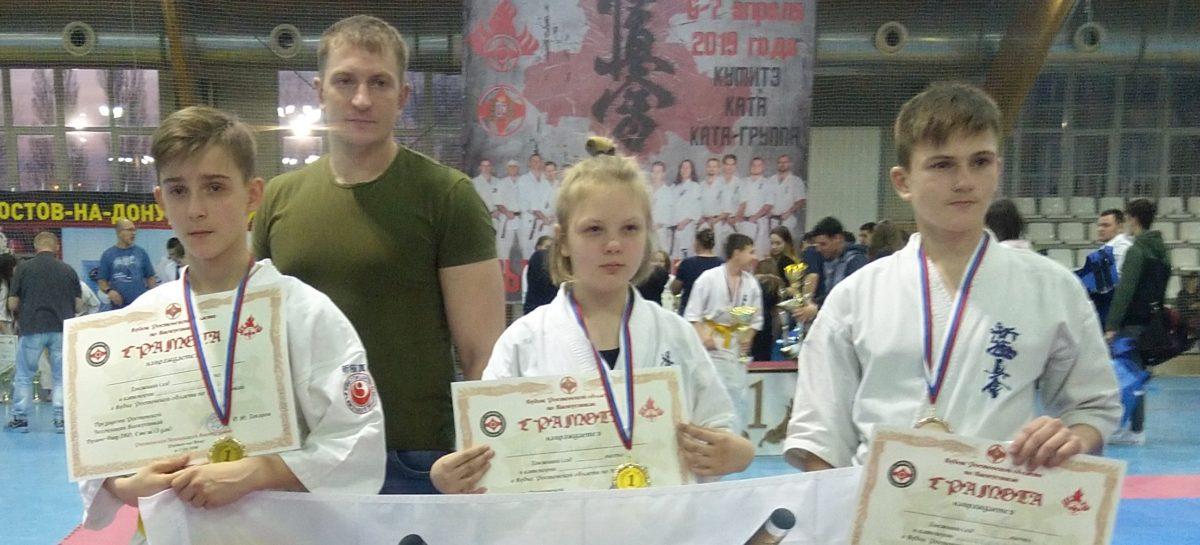 Сальчане выступили на областных соревнованиях по каратэ киокусинкай