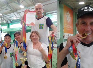 Сальские пенсионеры стали лучшими спортсменами в Ростовской области