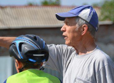 Сальчанин Александр Алещенко в 72 года бегает кросс и отжимается больше 80-ти раз