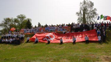 Сальск встретил участников масштабного автовеломарша «Спасибо за Победу!»