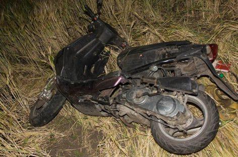 В Новом Егорлыке в ДТП пострадали скутеристка и её пассажирка
