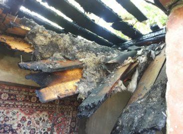 В Гиганте загорелись хозпостройка и гараж