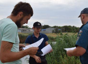 Инспекторы ГИМС провели рейд по «диким» местам отдыха сальчан