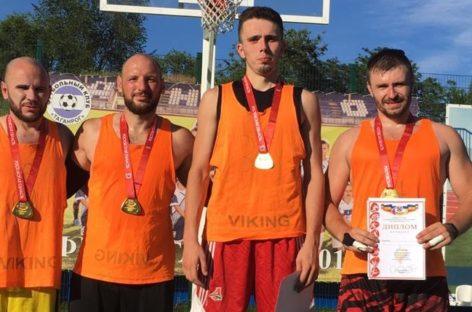Сальская команда «Русич» стала чемпионом спартакиады Дона по стритболу