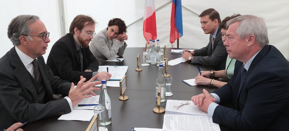 Василий Голубев: «Торговый оборот Дона с Италией вырос на 21%»
