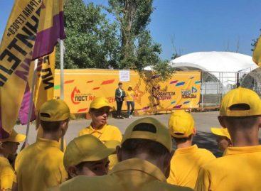 В Ростовской области заработал детский лагерь «Страна героев»