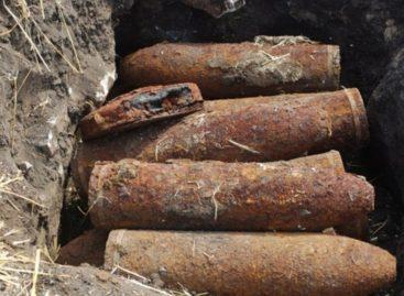 Найдено более ста боеприпасов времен Великой Отечественной войны