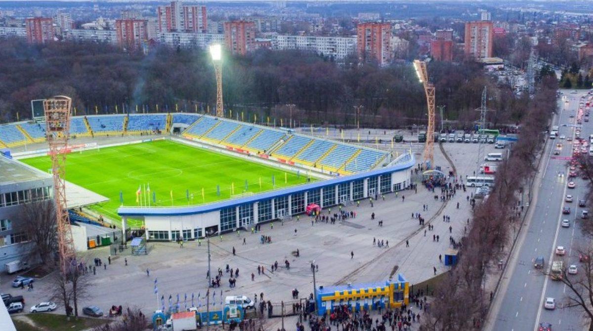 Особое внимание — стадионам и спортивным комплексам