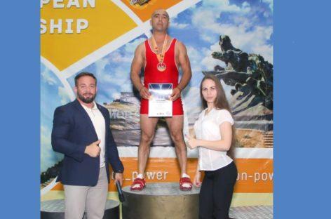 Сальчанин Гегам Хамоян стал чемпионом Восточной Европы в становой тяге