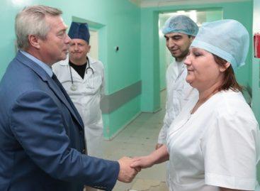 Капремонт больницы Матвеево-Курганского района будет завершен в 2020 году
