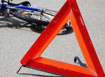 Велосипедист угодил под колёса четырнадцатой