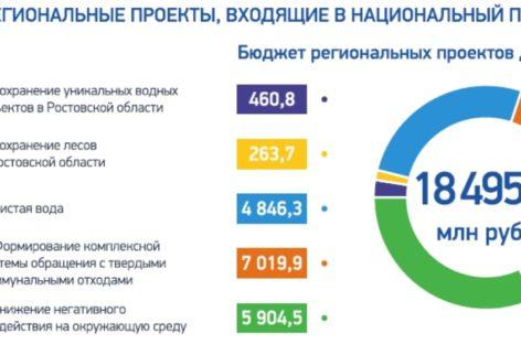 Донской регион реализует пять федеральных экологических проектов
