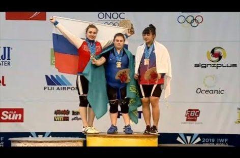 Серебряный призер первенства мира по тяжелой атлетике Дарья Рязанова делится впечатлениями от соревнований