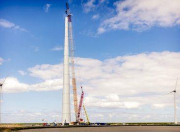 На Дону изготовили 16 башен для ветроэнергетических установок