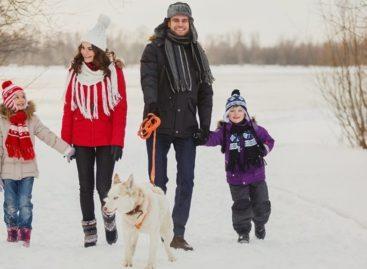Чем полезны зимние прогулки?