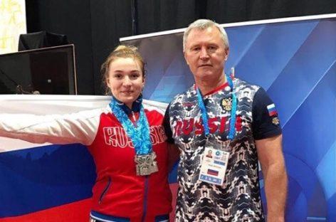 «Это только начало!»  Сальская тяжелоатлетка Дарья Рязанова завоевала «серебро» юниорского чемпионата мира