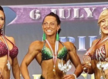 Сальчанка Нина Завадская стала вице-чемпионкой международного турнира в Грузии