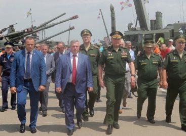Василий Голубев и Александр Дворников открыли «Армию-2019»