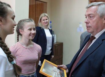Василий Голубев направил средства для детских школ искусств Дона