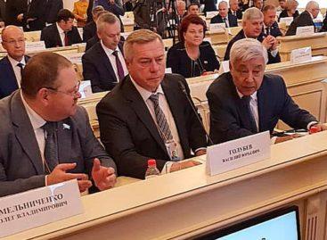 Василий Голубев предложил продолжить обмен бизнес-миссиями Дона и регионов Беларуси