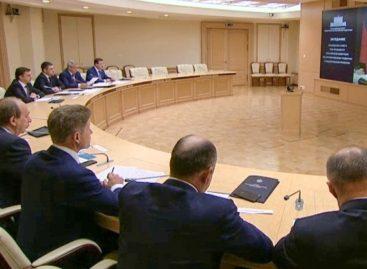 Василий Голубев принял участие в заседании президиума Совета при Президенте РФ