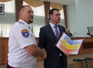 Цимлянскому казаку-дружиннику вручили Благодарственное письмо губернатора