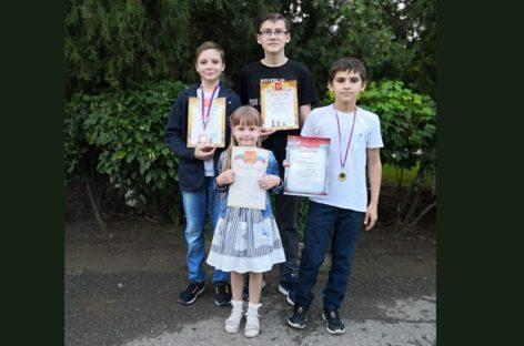 Юные сальские шахматисты успешно выступили на кубке Нижнего Дона